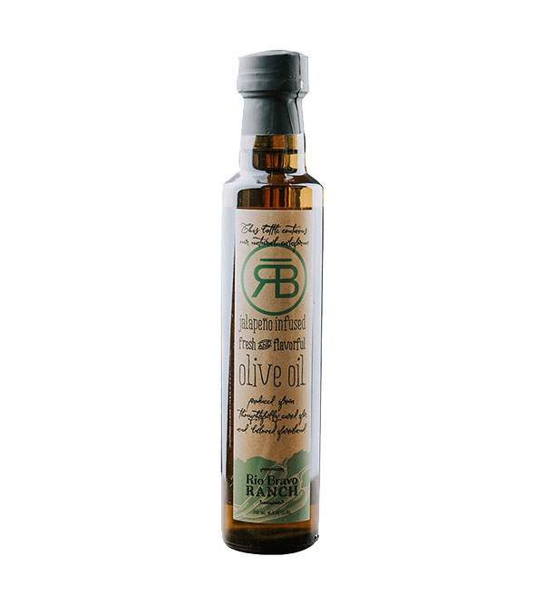 Rio Bravo Ranch - Jalapeño Infused Olive Oil 250 ml